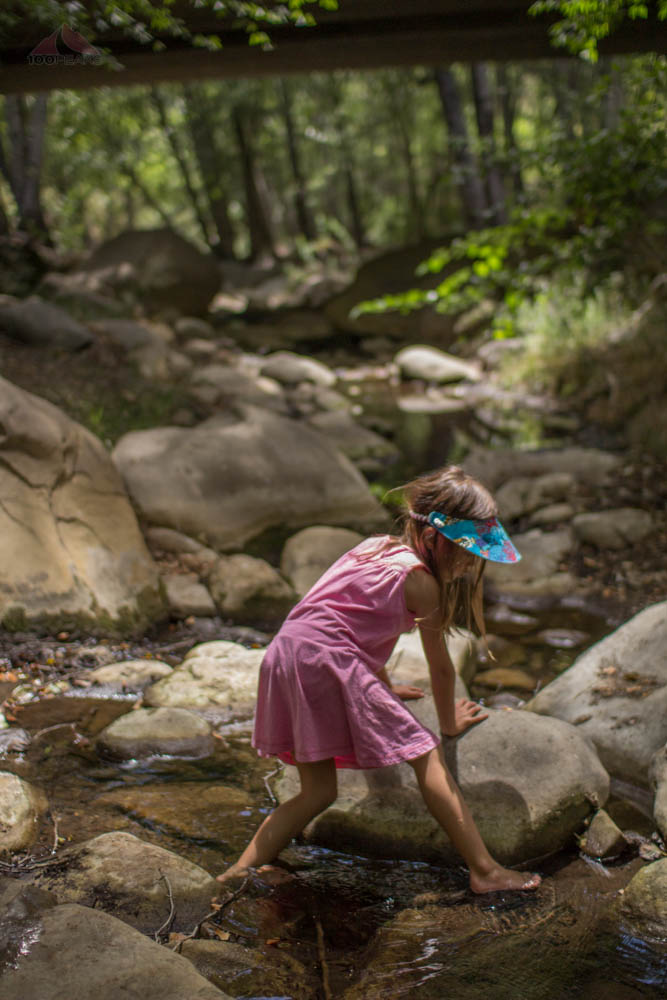 Water travel in Wheeler Gorge