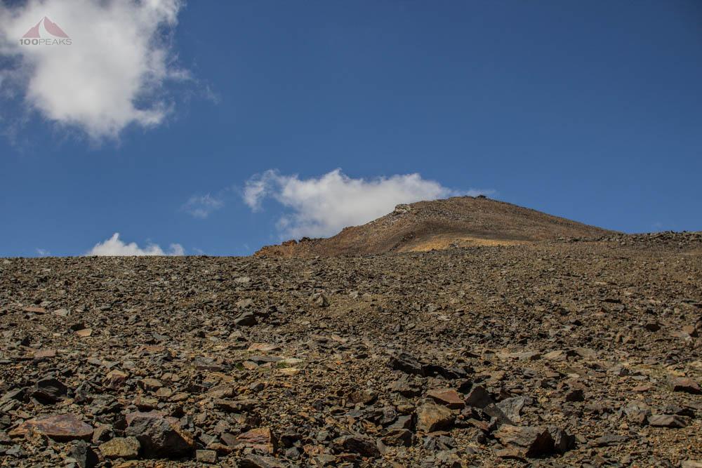 Getting closer to White Mountain Peak