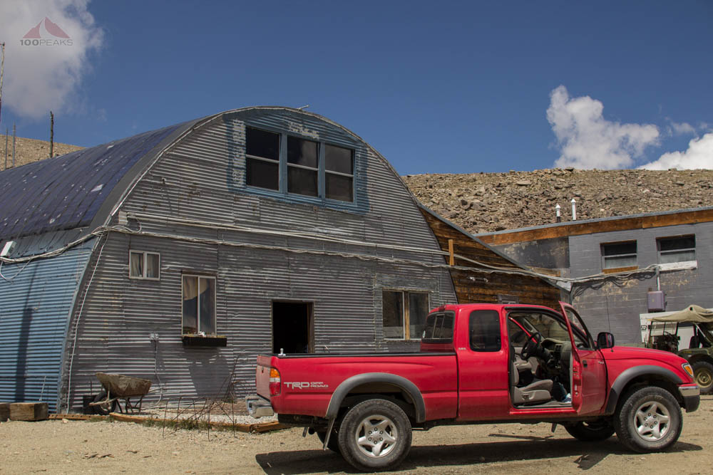 The Barcroft Research Station on the way to White Mountain Peak
