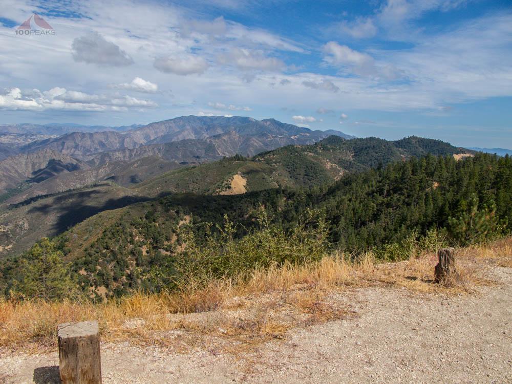 San Rafael Mountain from Figueroa Mountain