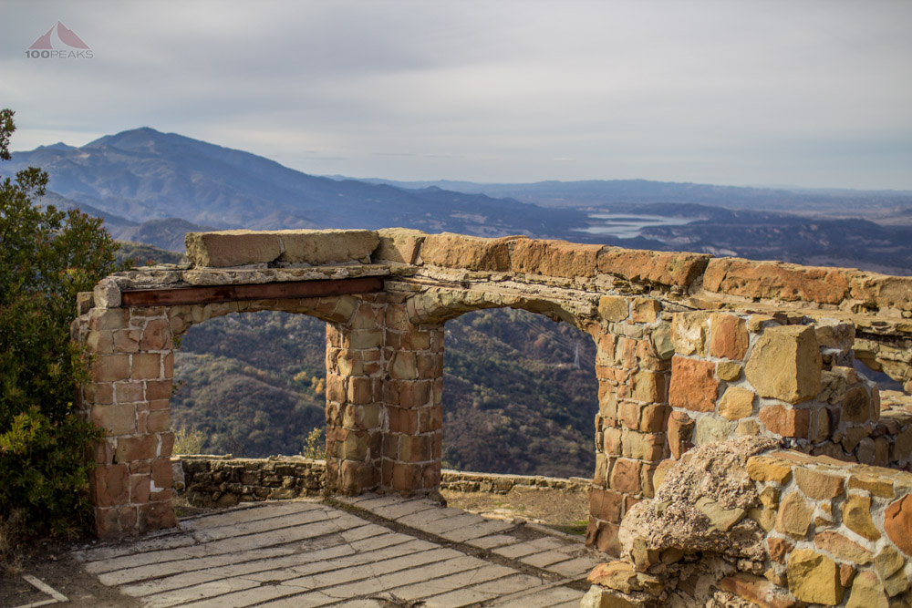 The ruins and view from Knapp's Castle
