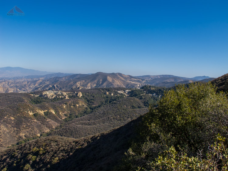 Salisbury Potrero and Lion Canyon in the distance