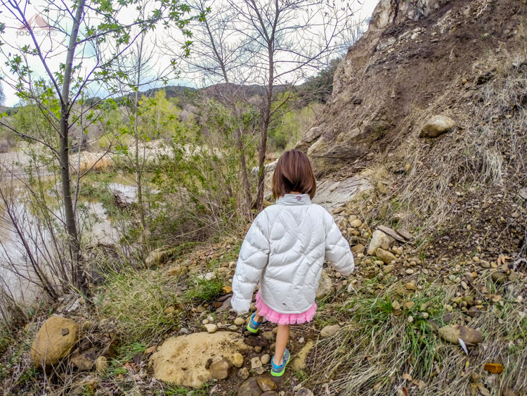 Hiking to the River