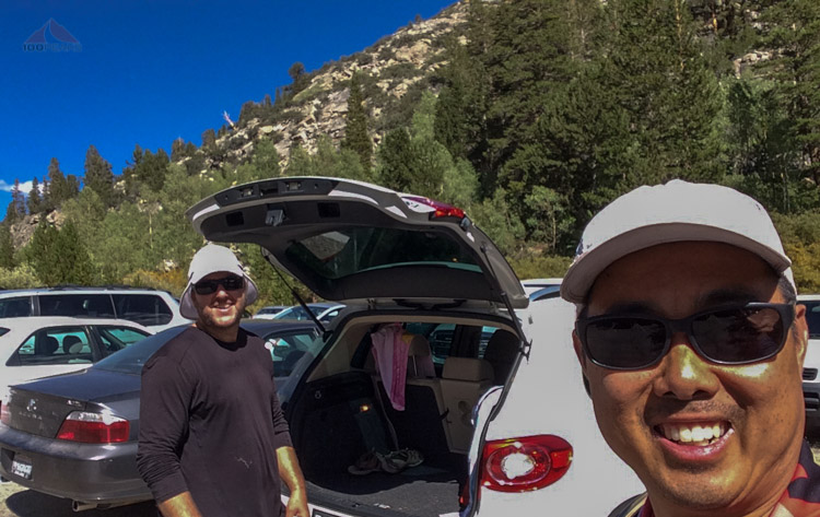 Made it back to the trailhead at South Lake