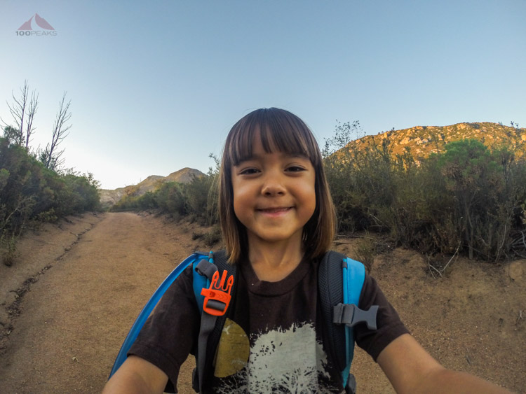 Sophie Selfie on the Arroyo Seco Trail