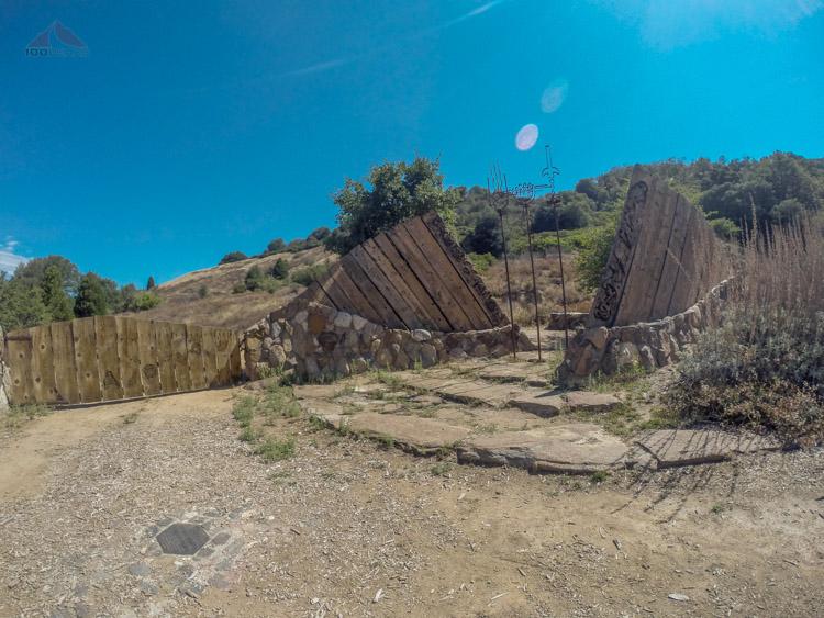 The Volcan Mountain Trailhead gateway