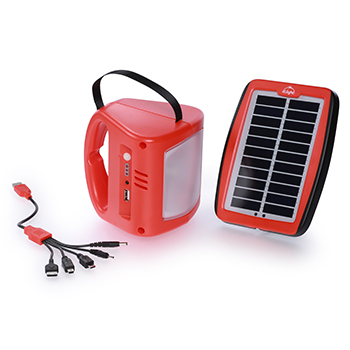 d.light S300 Lantern with Solar Panel and Mobile Charging