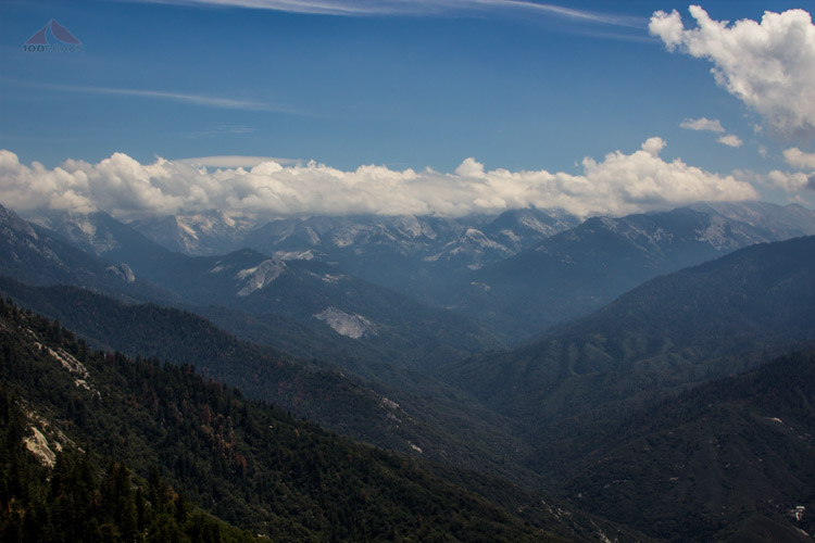 The Great Western Divide from Moro Rock