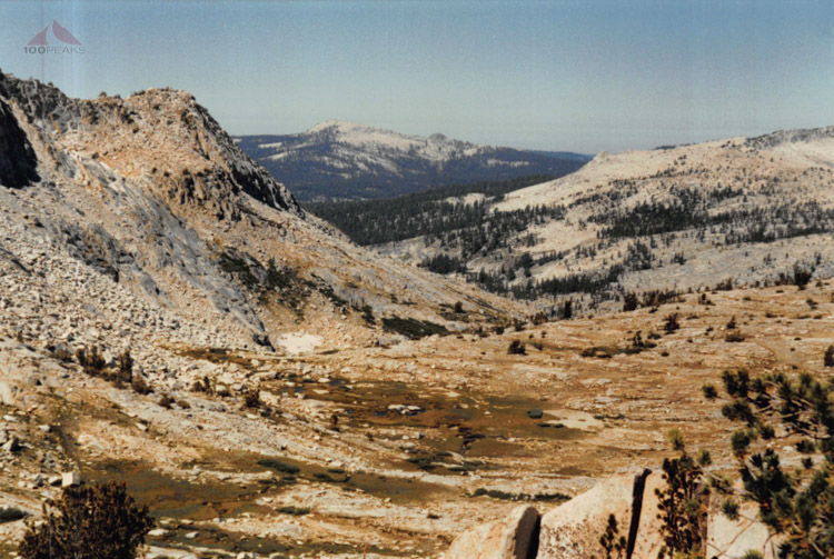 Looking to other side of (Mantle) Pass