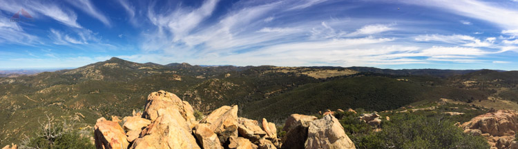 Oakzanita Peak Panorama