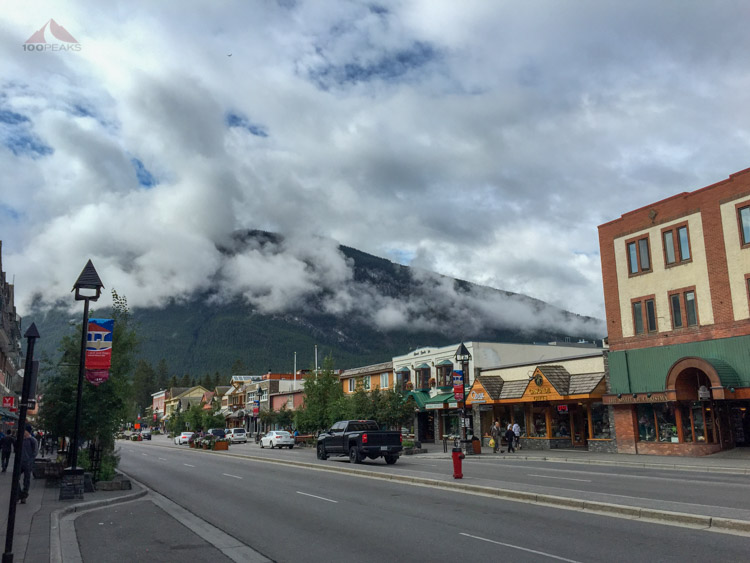 The charming town of Banff