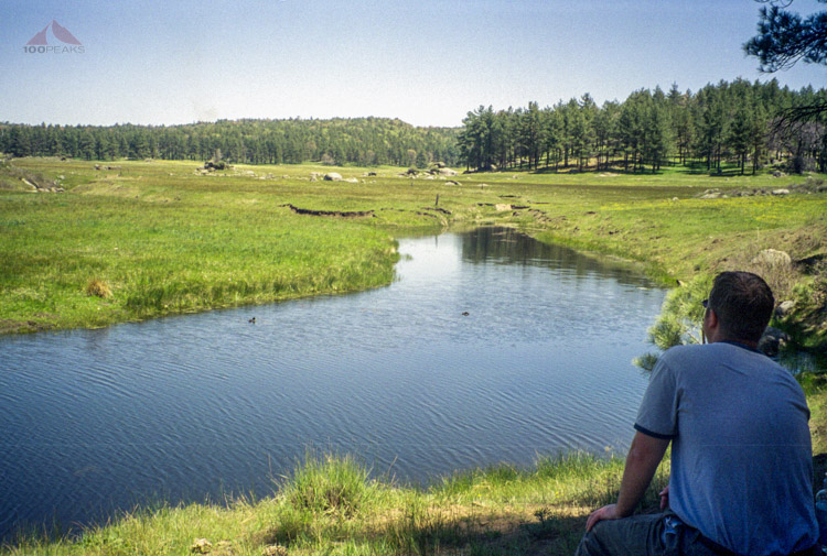 Me at Water of the Woods, Laguna Meadow - 2000