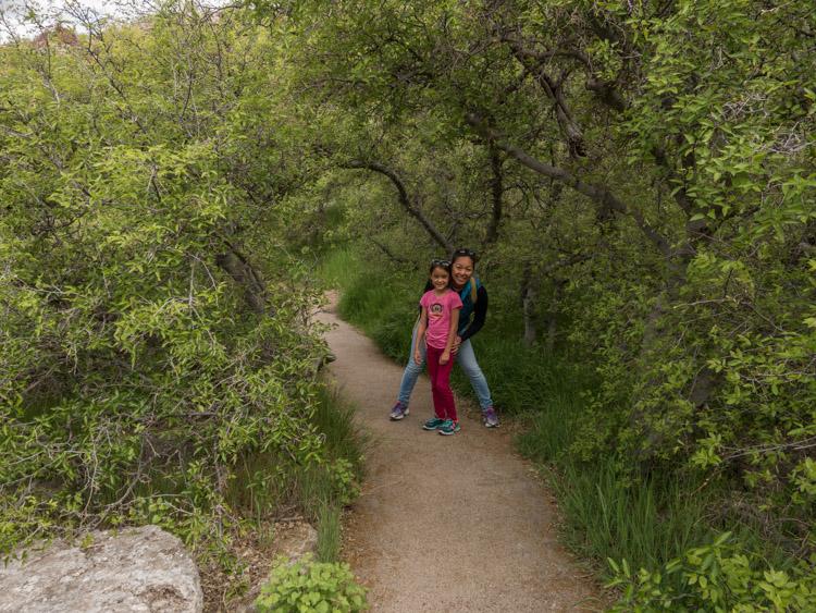 Hiking along Montezuma Well
