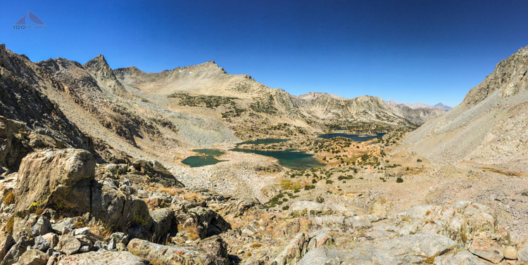 Looking down Bishop Creek Basin