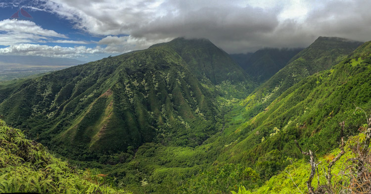 Waihee Valley on Maui