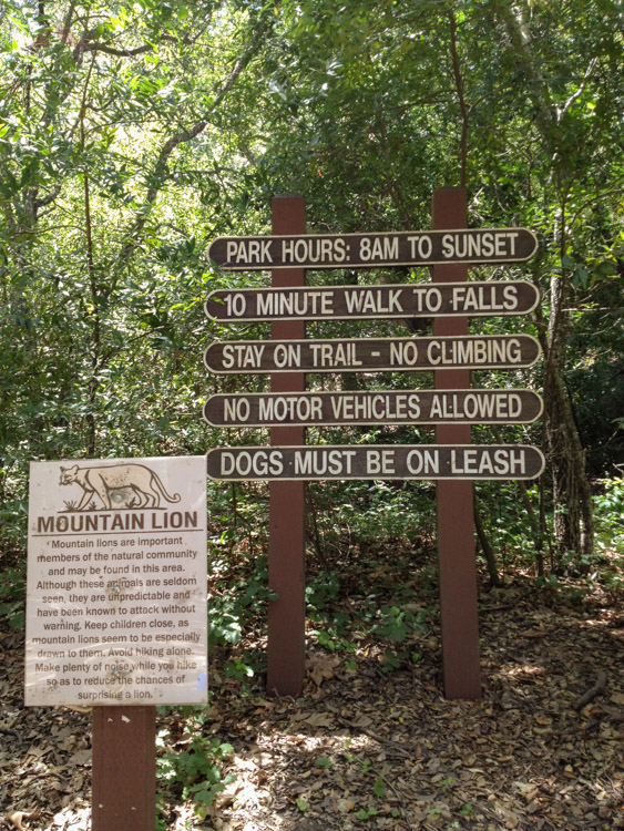 The Trailhead to Nojoqui Falls