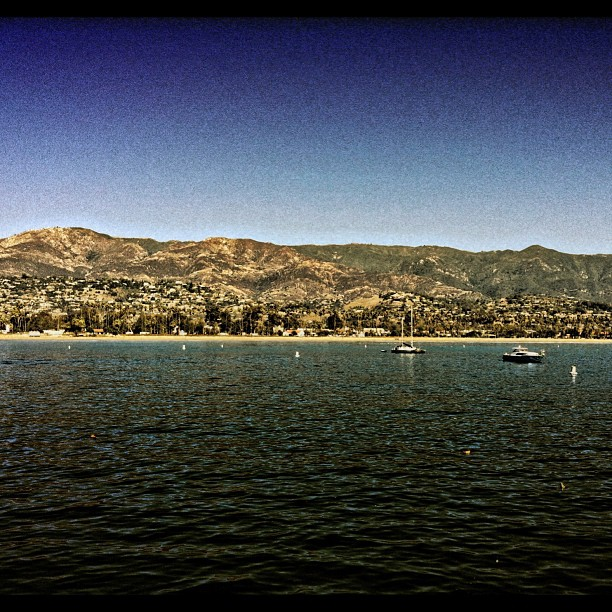 Santa Barabara from Stearns Wharf