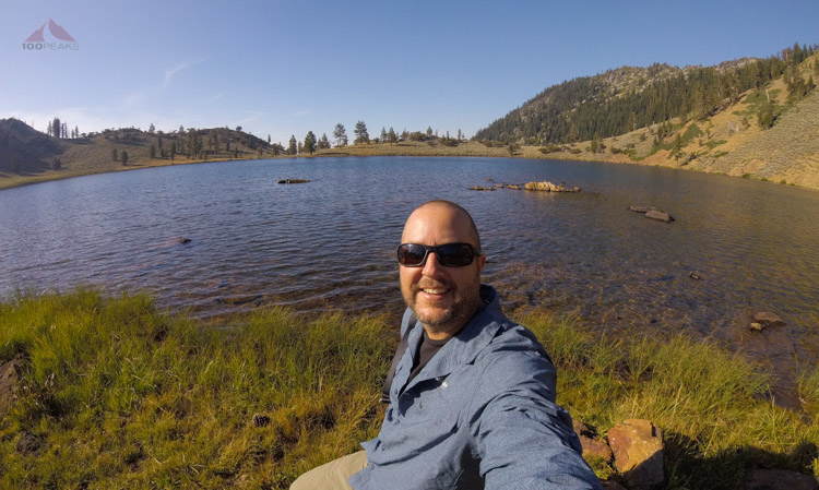 Back to East Boulder Lake after a nice day of hiking