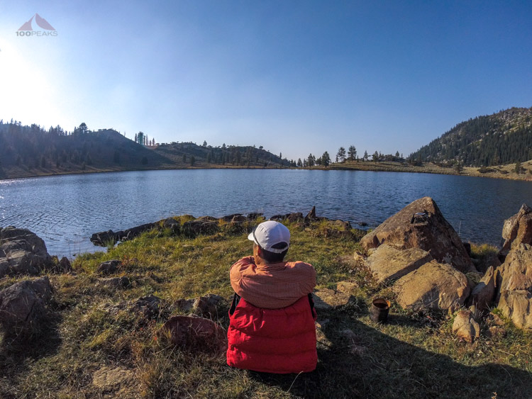 Back to East Boulder Lake for another pleasant afternoon
