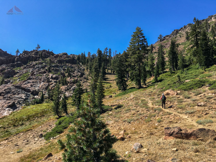 Headed back up to the PCT