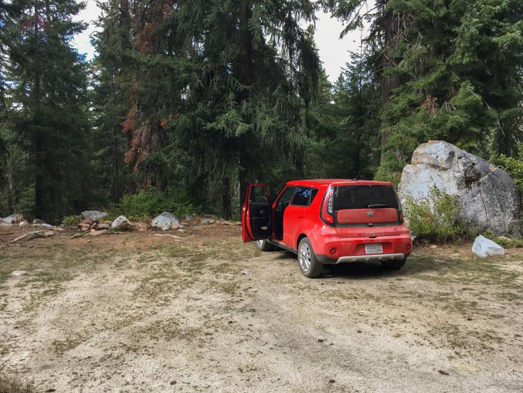 East Boulder trailhead