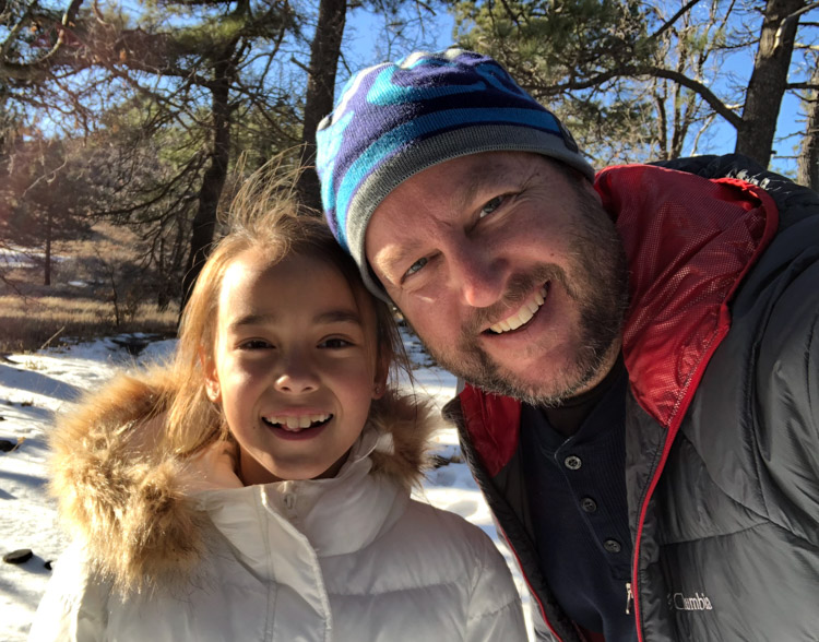 An after-school snow day in the Laguna Mountains