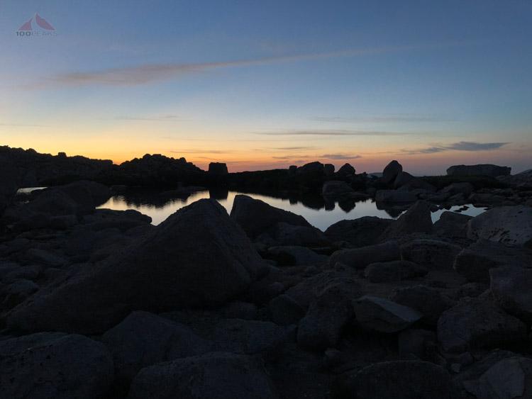 Dawn at High Lake