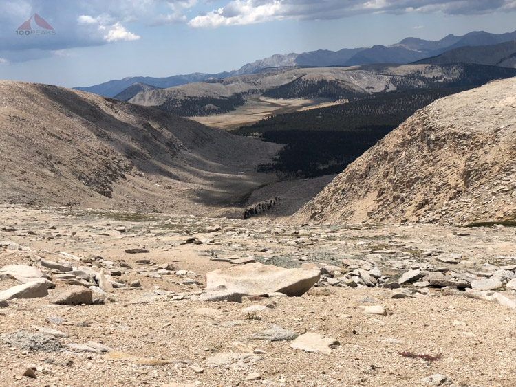 Bighorn Sheep on the slope below.jpg