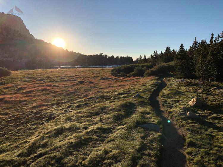 Sunrise on the Cottonwood Lakes Trail.jpg