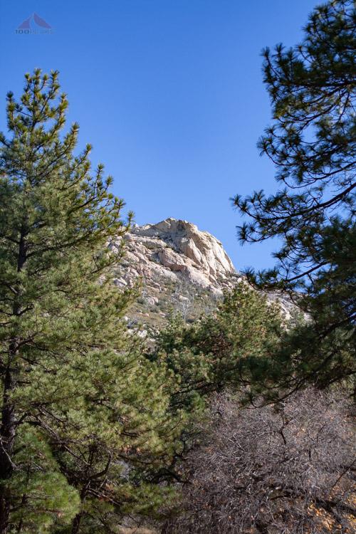 Stonewall Peak from Paso Picacho