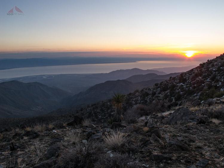 Salton Sea sunrise