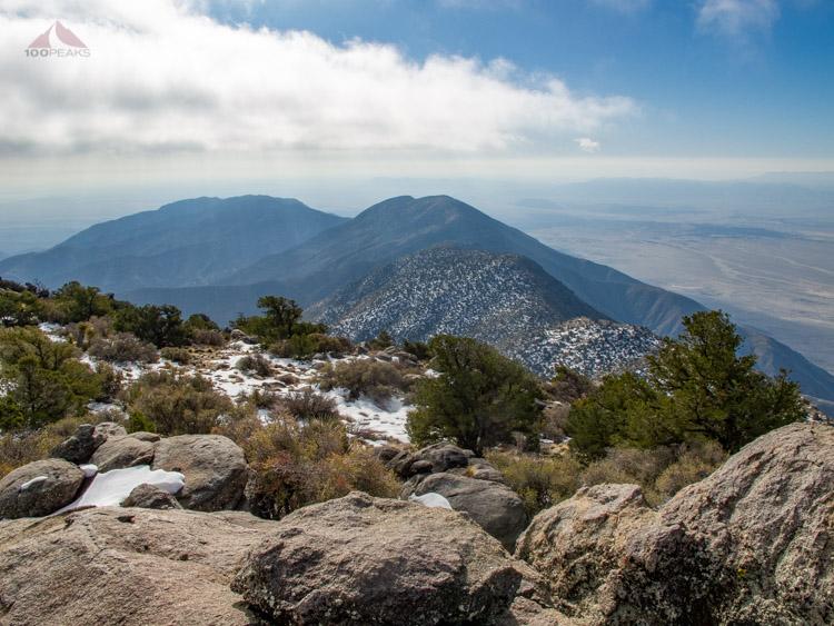 Villager Peak from Rabbit Peak