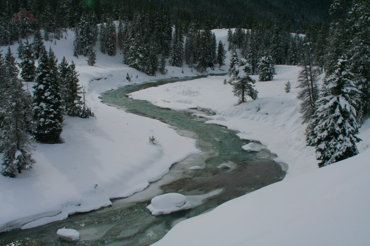 Icy Granite Creek