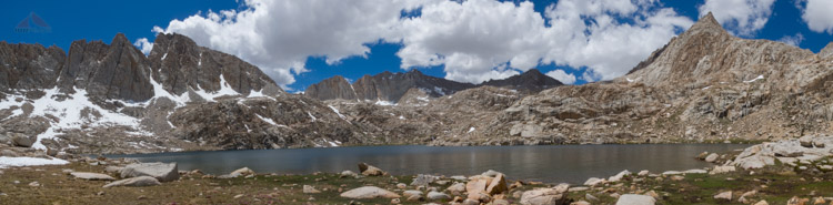 Sky Blue Lake Pano