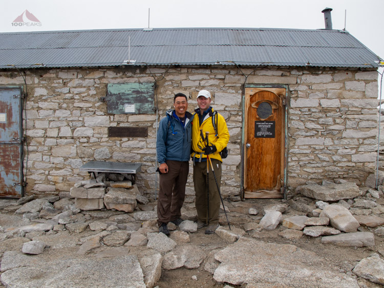 Back again at the Mount Whitney hut, so many years later