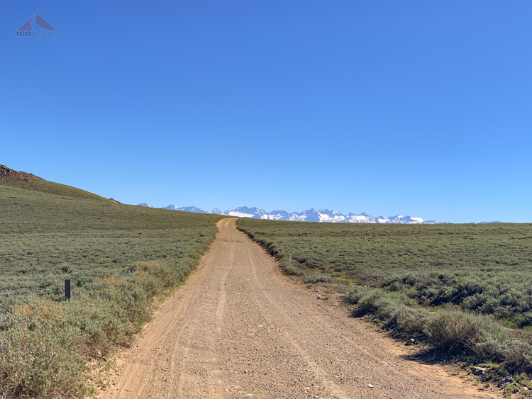 Headed out on White Mountain Road, looking for Campito, the lone wild horse