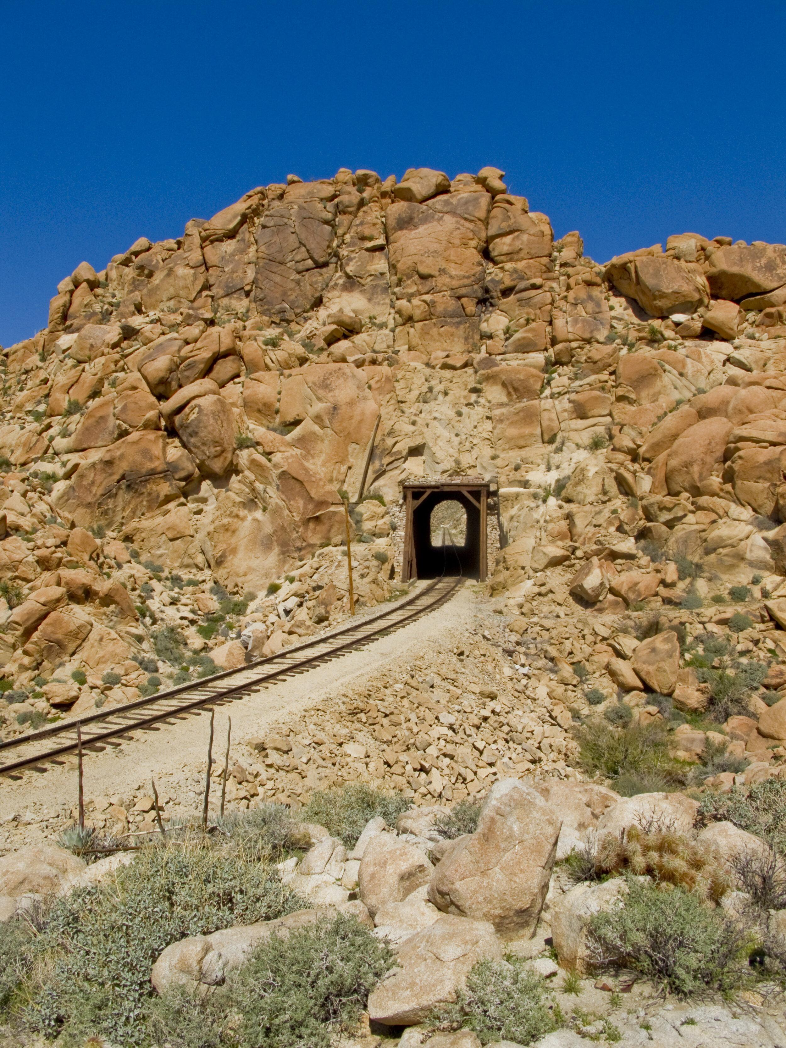 Train Tunnel near Carrizo Canyon