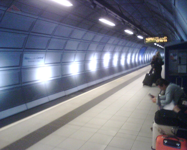 Waiting for the Heathrow Express
