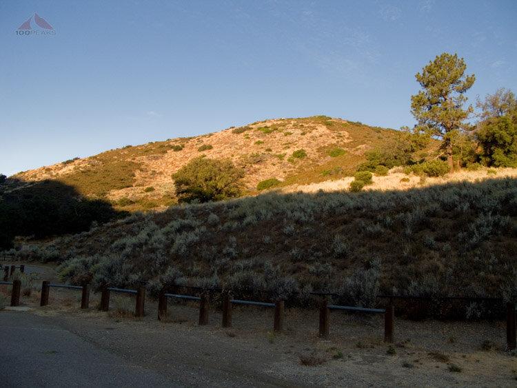 Sunrise on Guatay Mountain