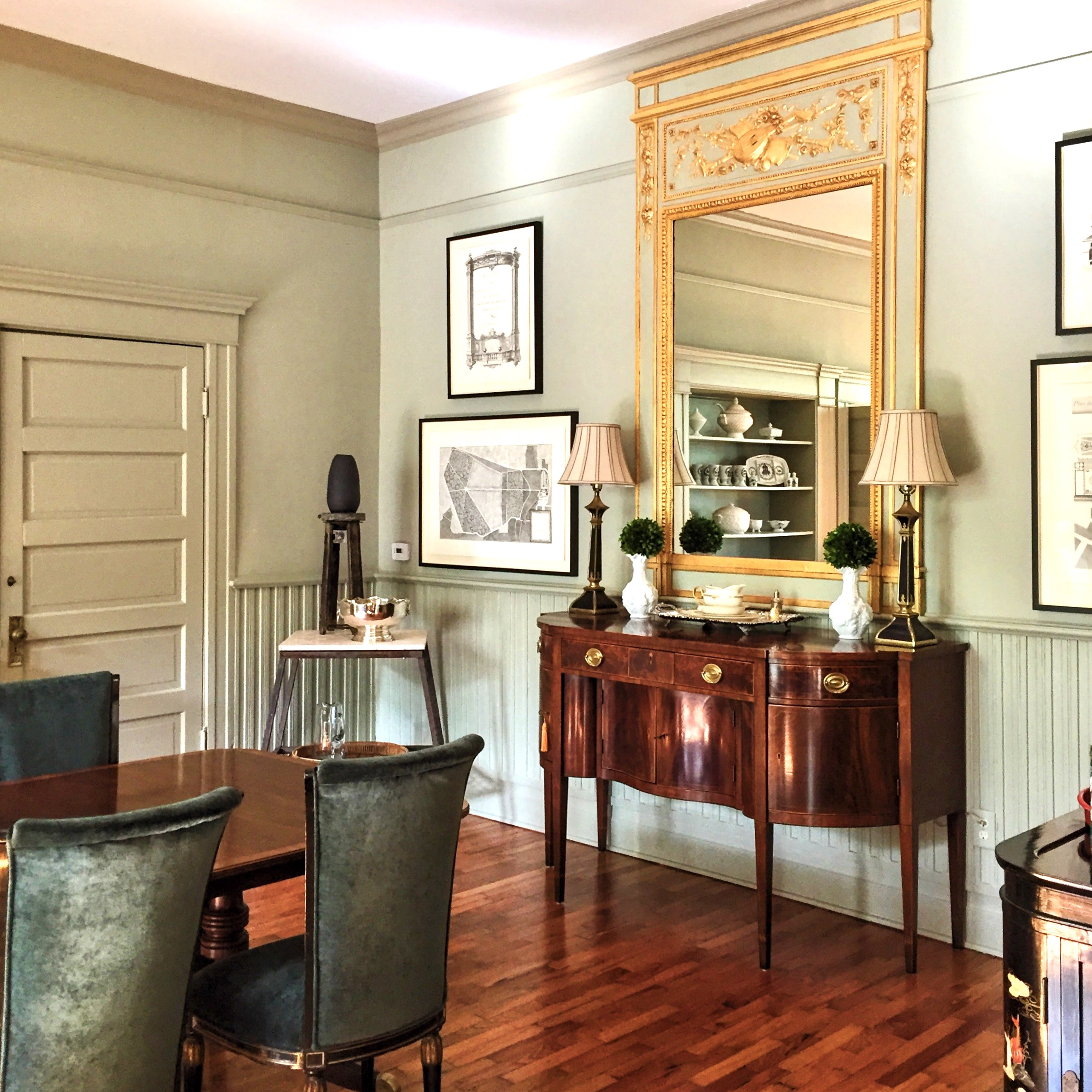 Traditional Dining in Historic Home