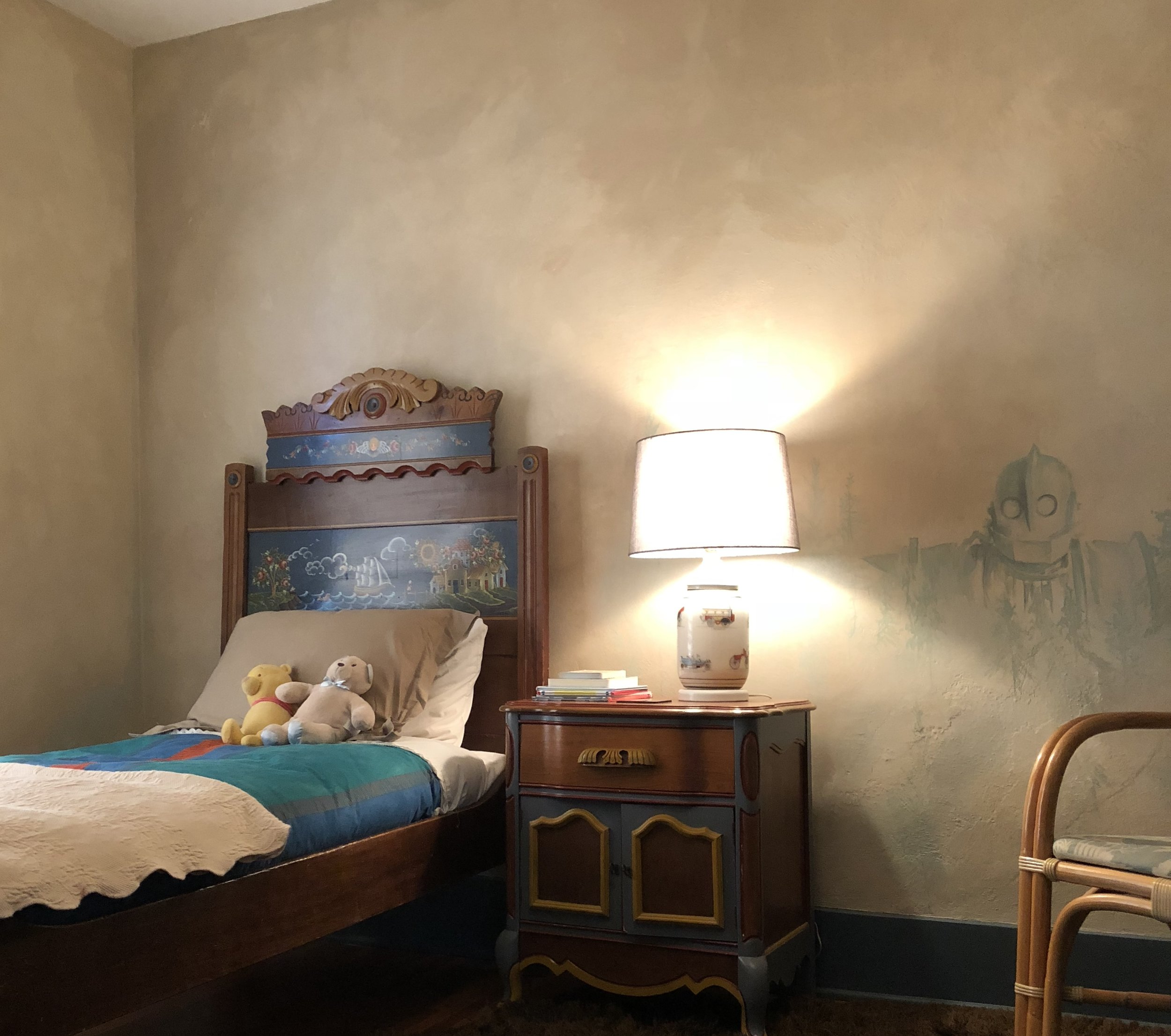 Painted Bed, Palette Inspiration