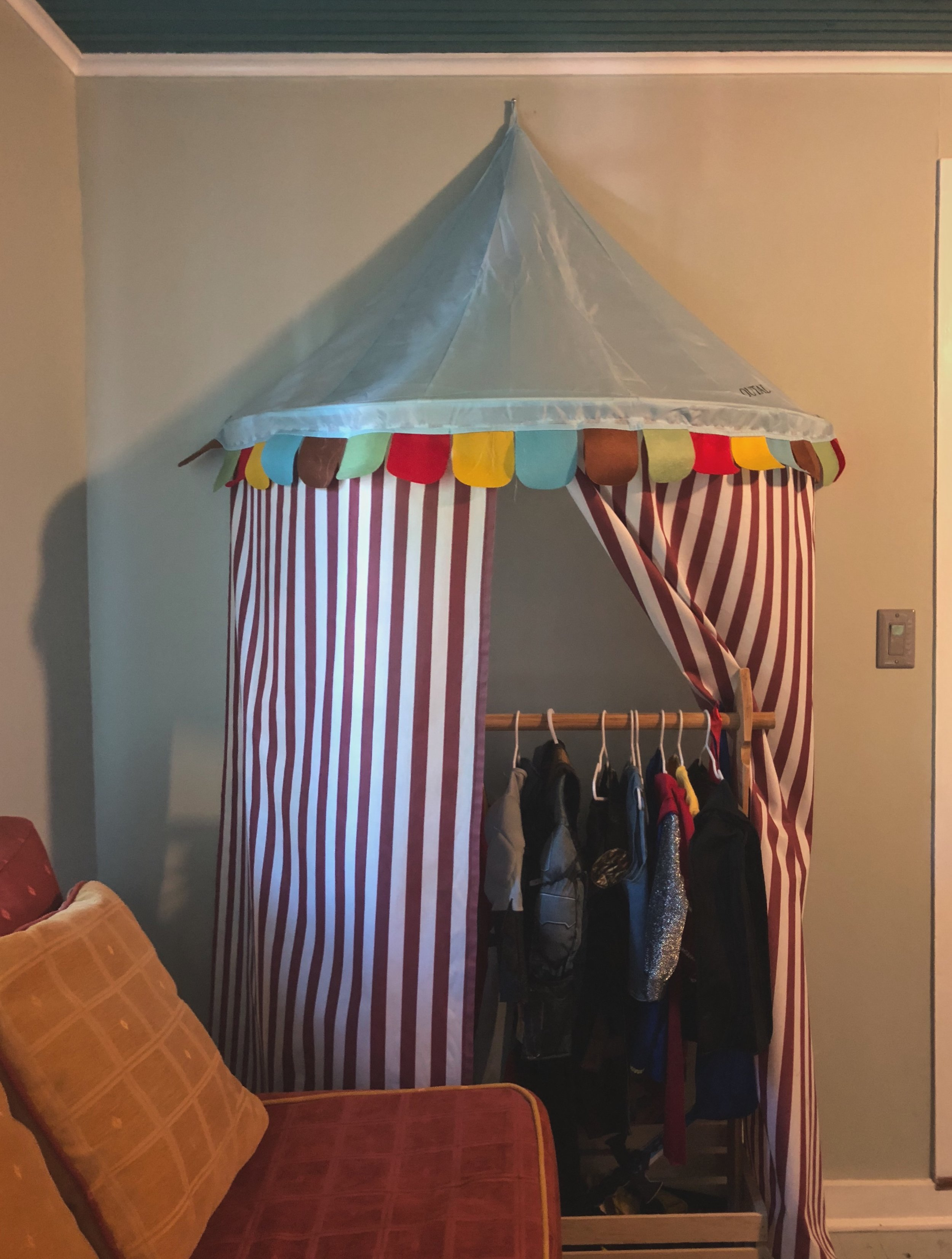 Costume cabana, or circus tent!