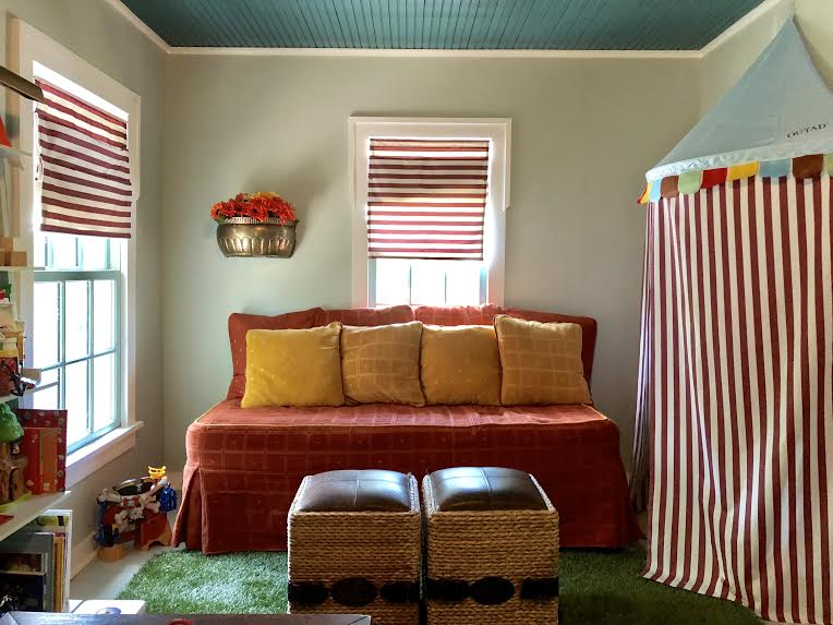 Daybed and Costume Tent