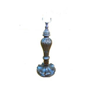 NNL-296 Zinc Alloy Lamp Base   W: 17cm, H: 35cm MOQ Requirement: 20pcs