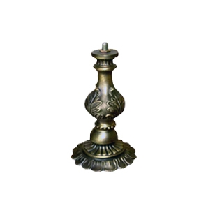 NNL-067S Zinc Alloy Lamp Base   W: 16cm, H:17.5cm MOQ Requirement: 20pcs