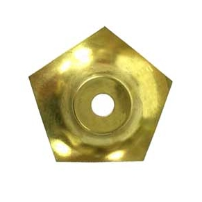 """O5SCAP 5-Sided Small Brass Vase Caps   Side length: 1-3/4""""(45mm)"""