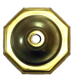 """O8CAP 8 Sided Brass Vase Caps   Side length: 1-1/4""""(32mm)"""