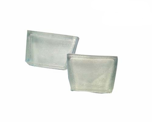 PRP-7-R Spare Rubber Sleeves for PRP-7   Upper jaw (concave) and lower jaw (convex) each pair.