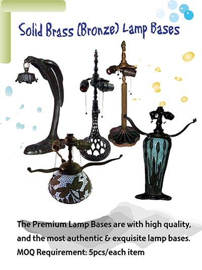 Solid Brass Lamp Bases