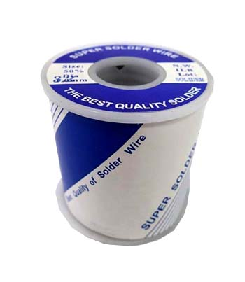 I50-10B Soldering Tin   Tin 50%, and lead 50%, 1 LB/Roll